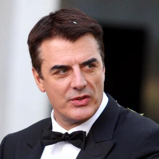 Chris Noth in Sex and the City: The Movie - Filming On Location - October 12, 2007