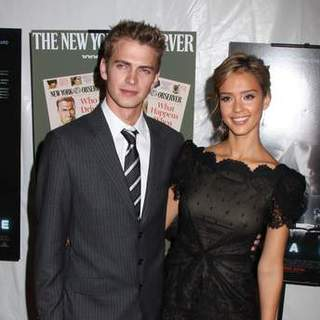 "Hayden Christensen, Jessica Alba in ""Awake"" New York City Premiere - Arrivals"