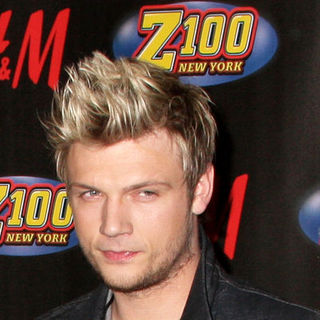 Nick Carter in Z100 Jingle Ball 2007 - Press Room