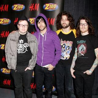 Fall Out Boy in Z100 Jingle Ball 2007 - Press Room