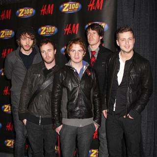 OneRepublic in Z100 Jingle Ball 2007 - Press Room