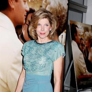 "Christine Baranski in ""Charlie Wilson's War"" New York City Premiere - Arrivals"