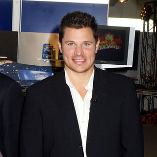 Nick Lachey in Hot Wheels 40th Anniversary Celebration at the Mattel Showroom in New York