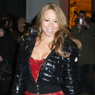 Mariah Carey - Celebrity Arrivals and Departures at MTV's TRL on February 27, 2008