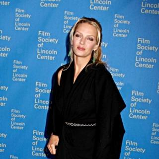Uma Thurman in 35th Annual Film Society of Lincoln Center Gala Tribute to Meryl Streep - Green Room