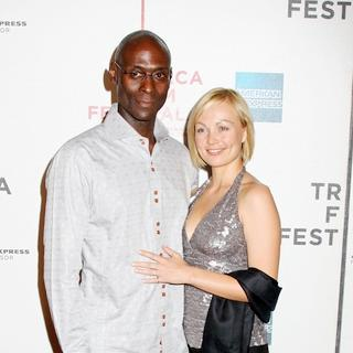 "Lance Reddick, Beyonce Christina York in 7th Annual Tribeca Film Festival - ""Tennessee"" Premiere - Arrivals"