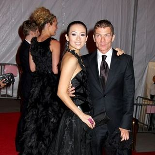 "Zhang Ziyi, Aviv Nevo in ""Superheroes: Fashion and Fantasy"" Costume Institute Gala at The Metropolitan Museum of Art"