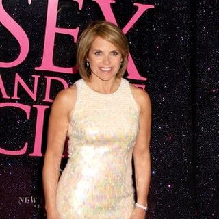 "Katie Couric in ""Sex and the City: The Movie"" New York City Premiere - Arrivals - JTM-036472"