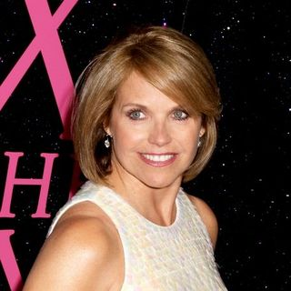"Katie Couric in ""Sex and the City: The Movie"" New York City Premiere - Arrivals - JTM-036474"
