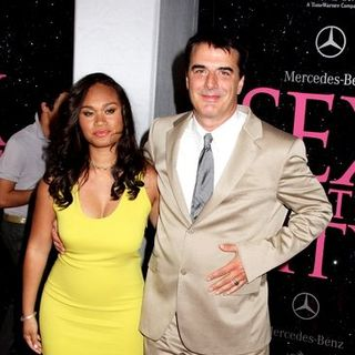 "Chris Noth, Tara Wilson in ""Sex and the City: The Movie"" New York City Premiere - Arrivals"