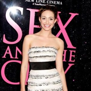 "Emmy Rossum in ""Sex and the City: The Movie"" New York City Premiere - Arrivals"