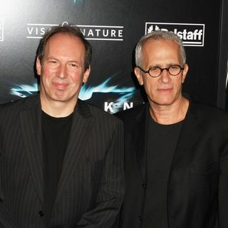 "Hans Zimmer, James Newton Howard in ""The Dark Knight"" World Premiere - Arrivals"