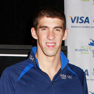 Michael Phelps in Michael Phelps Promotes the Visa Grant for Early Swimming Program at the McBurney YMCA