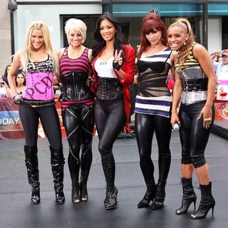 The Pussycat Dolls in NBC's Today Show Morning Concert Series - the Pussycat Dolls and Jesse McCartney Perform
