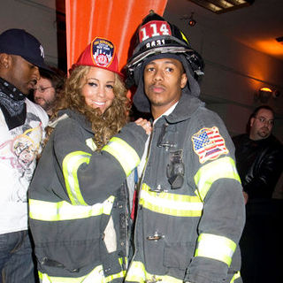 Mariah Carey Halloween Party at Marquee in New York on October 30, 2008