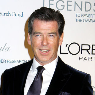 Pierce Brosnan in L'Oreal Legends Gala to Benefit The Ovarian Cancer Research Fund - Arrivals