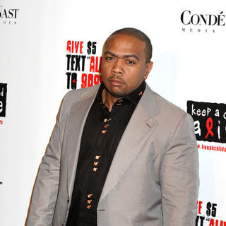 "Timbaland in 5th Annual ""Keep A Child Alive"" Black Ball - Red Carpet Arrivals"