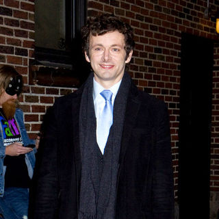 Michael Sheen in The Late Show with David Letterman - December 9, 2008 - Arrivals