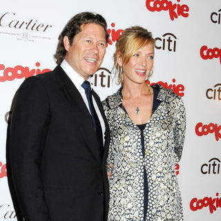 Arpad Busson, Uma Thurman in Cookie Magazine Smart Cookie Awards 2009 - Arrivals