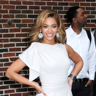 Beyonce Knowles - The Late Show with David Letterman - April 22, 2009 - Arrivals