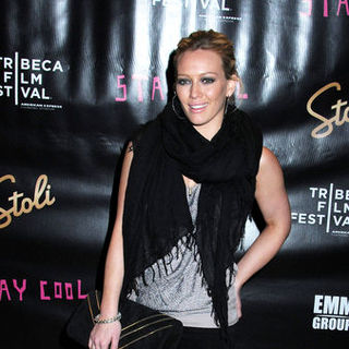 "Hilary Duff in 8th Annual Tribeca Film Festival - ""Stay Cool"" Afterparty - Arrivals"