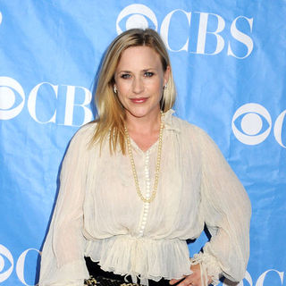 Patricia Arquette in 2009 CBS Upfront Presentation - Arrivals - JTM-043930