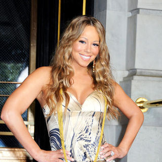 Mariah Carey - Mariah Carey on the Set of Her New Music Video