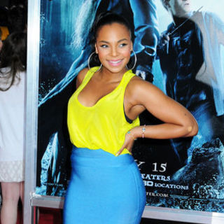 "Ashanti in ""Harry Potter and the Half-Blood Prince"" New York City Premiere - Arrivals"