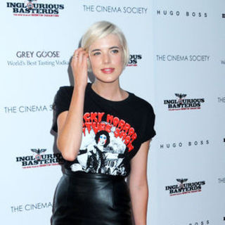 "Agyness Deyn in ""Inglourious Basterds"" New York Premiere - Arrivals"