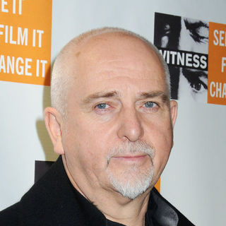 Peter Gabriel in 5th Annual Focus For Change Benefit Dinner and Concert - Arrivals - JTM-047773