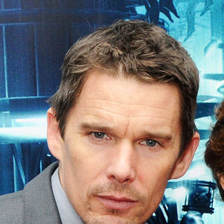 "Ethan Hawke in NYC Premiere of ""Daybreakers"""