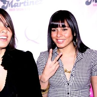 Nina Sky in 1st Annual Angie Martinez Hair Show and Beauty Expo - Arrivals - JVL-000462
