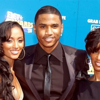 Trey Songz in BET Awards 2008 - Arrivals - KMY-000611