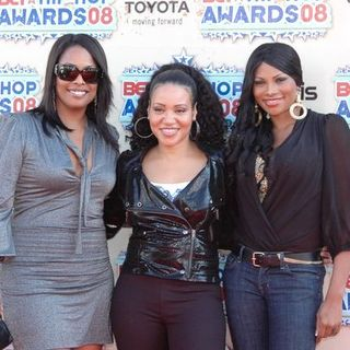 Salt-N-Pepa in 2008 BET Hip Hop Awards - Arrivals - KMY-000669