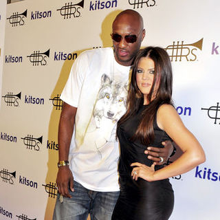 "Khloe Kardashian, Lamar Odom in Lamar Odom ""Rich Soil"" Fashion Clothing Line Launch at Kitson - Arrivals"
