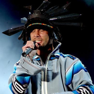 Jamiroquai in Volvic Lovebox Weekender in Victoria Park