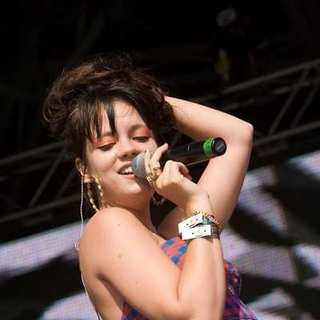 Lily Allen - Get Loaded Concert in the Park Festival