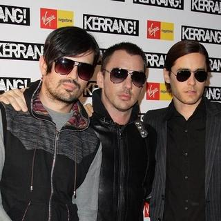 30 Seconds to Mars in Kerrang! Awards 2007