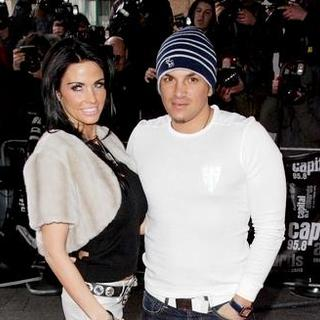 Katie Price, Peter Andre in Capital Awards 2008 - Red Carpet Arrivals