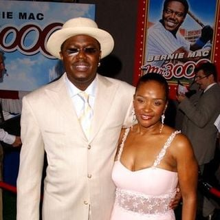 Bernie Mac, Rhonda McCullough in Mr. 3000 Movie Premiere - Arrivals