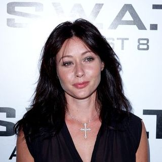 Shannen Doherty in S.W.A.T. Movie Premiere