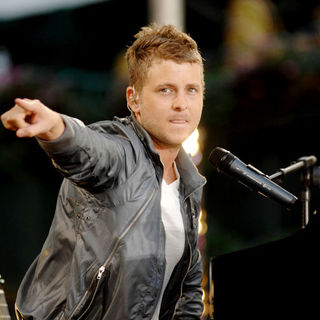 Ryan Tedder, OneRepublic in OneRepublic Performs on ABC's Good Morning America Summer Concert Series - July 11, 2008