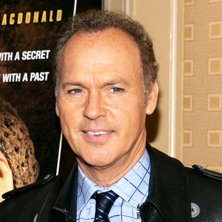 "Michael Keaton in ""The Merry Gentleman"" New York City Press Conference"