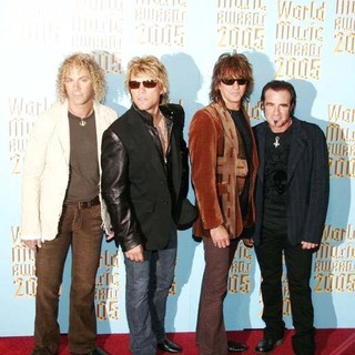 Bon Jovi in 2005 World Music Awards - Arrivals