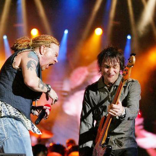 Guns N' Roses in 2006 Rock in Rio Lisboa Music Festival