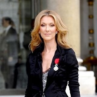 Celine Dion in Celine Dion Receives Legion of Honour From French President Nicolas Sarkozy at Elysee Palace