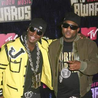 Yung Joc in 2007 MTV Video Music Awards - Red Carpet