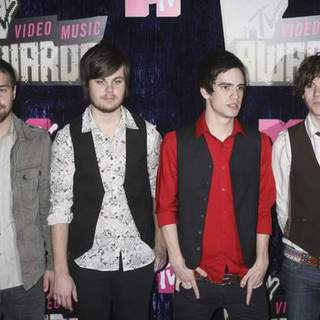 Panic At the Disco in 2007 MTV Video Music Awards - Red Carpet - PRN-007160