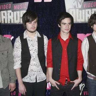Panic At the Disco in 2007 MTV Video Music Awards - Red Carpet - PRN-007163