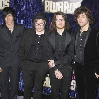 Fall Out Boy in 2007 MTV Video Music Awards - Red Carpet